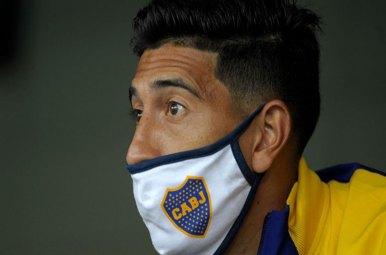 Boca informó que Esteban Andrada no puede volver al país por las disposiciones vigentes