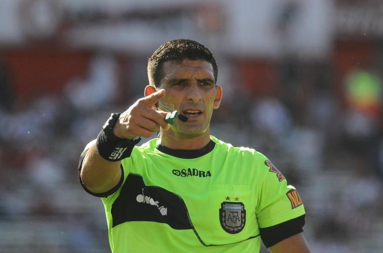 Andrés Merlos será el árbitro del próximo partido de Patronato