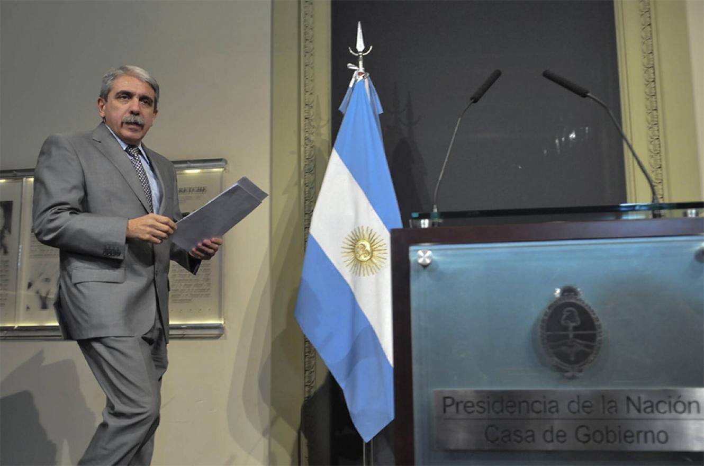 Imagen de archivo de Aníbal Fernández que mañana jurará como ministro de Seguridad.