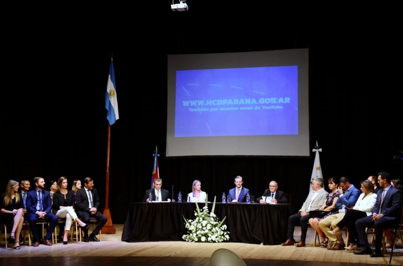 apertura sesiones HCD Paraná 2020