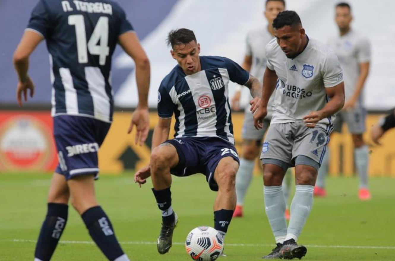 Copa Sudamericana: Talleres de Córdoba no pudo sostener la ventaja y tropezó en su debut