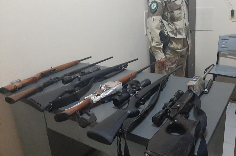 En total en lo que va del año se han secuestrado ochentas armas de fuego de distintos calibres en la zona rural de la jurisdicción.