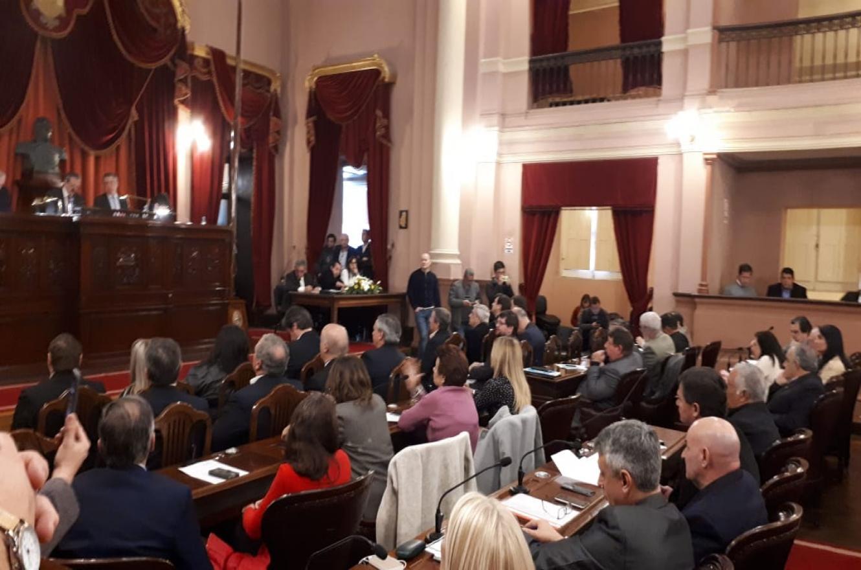 Se reunió la Asamblea Legislativa