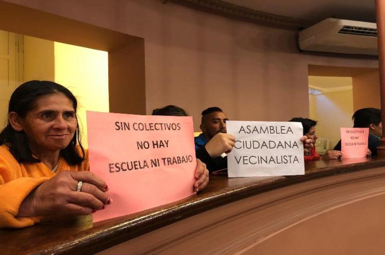 La Asamblea Vecinalista en la sesión del 13 de agosto
