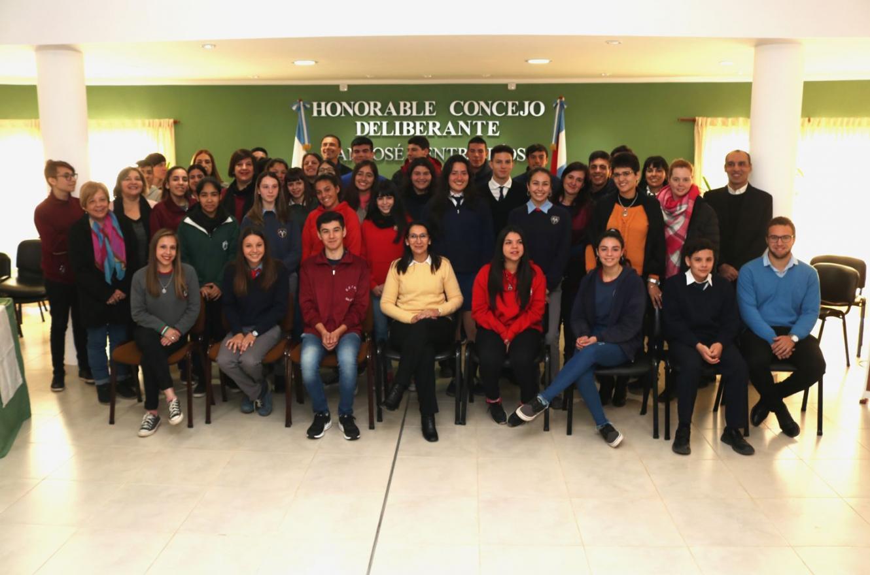 Asumió el Concejo Deliberante Estudiantil 2019 de San José