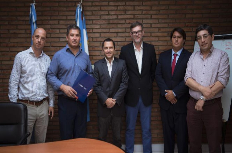 ATER y el municipio de Diamante firmaron un convenio de colaboración