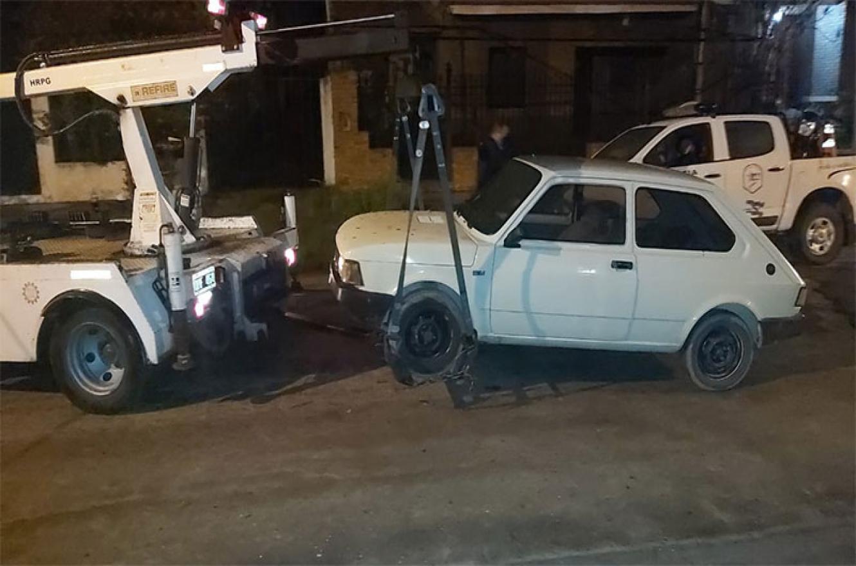 auto secuestrado fiesta clandestina Paraná