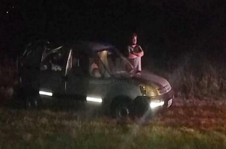robo piraña en Autopista Santa Fe-Rosario