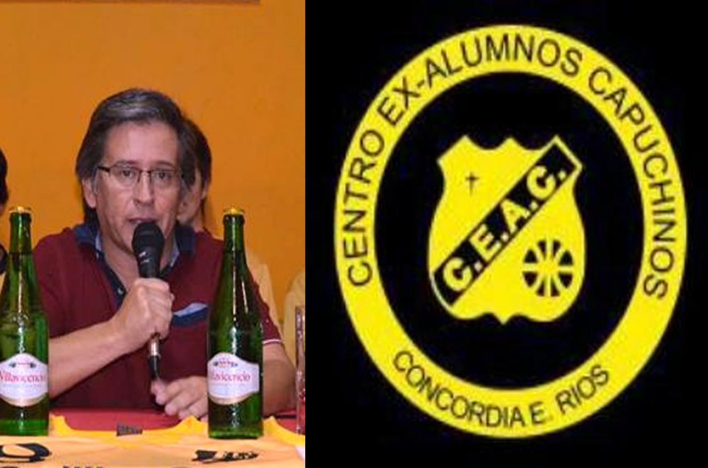 Oscar Ávila asumió la presidencia de Capuchinos de Concordia