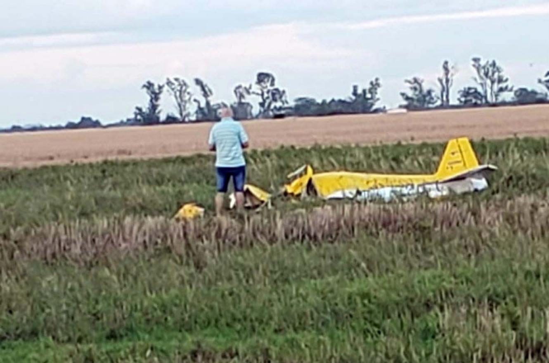 avión estrellado en Esperanza