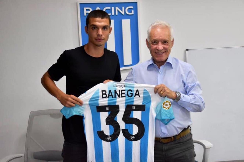 Fútbol: el entrerriano Tiago Banega firmó su primer contrato con Racing |  Análisis