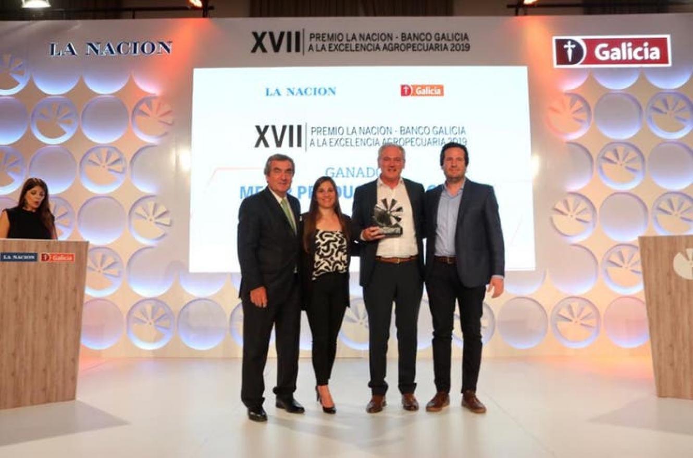 Atilio Benedetti ganador premio Excelencia Agropecuaria