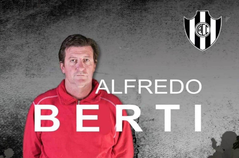 """Alfredo Berti fue oficializado por el """"Ferroviario"""" de Santiago del Estero"""