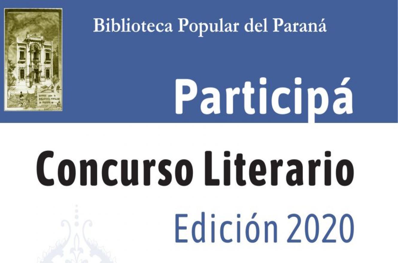 Concurso Literario Biblioteca Popular
