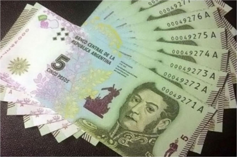 Postergarán hasta el 28 de febrero el retiro de los billetes de $ 5