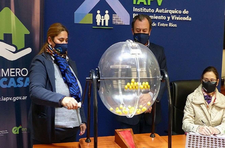 Sortearán viviendas para 8 localidades entrerrianas ejecutadas con recursos provinciales