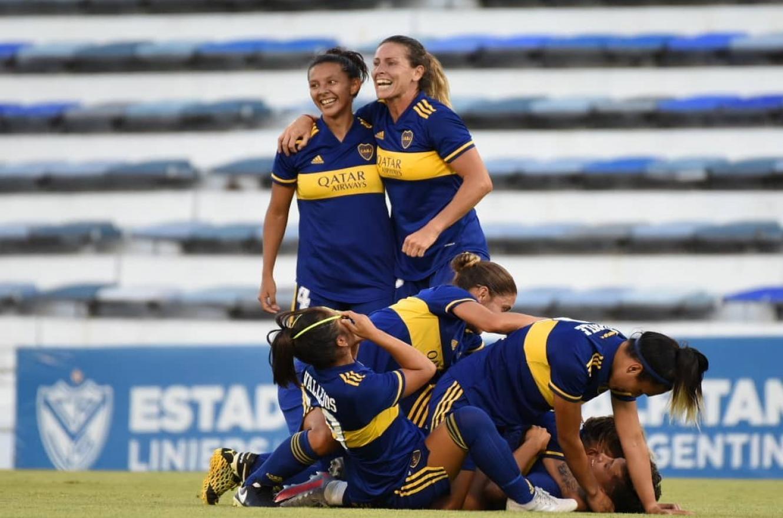 Fútbol: Boca aplastó a River para quedarse con el primer torneo profesional femenino