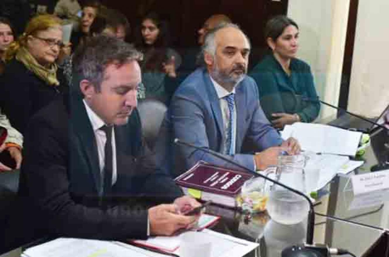 Marcelo Boeykens junto al fiscal Ignacio Candioti (Foto: Uno)