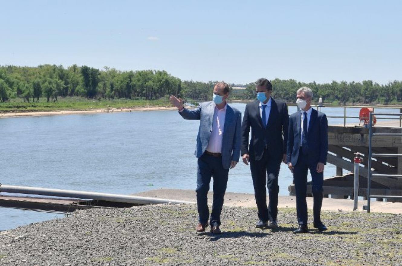 Dragarán los puertos de Diamante e Ibicuy y se construirán seis terminales de transporte