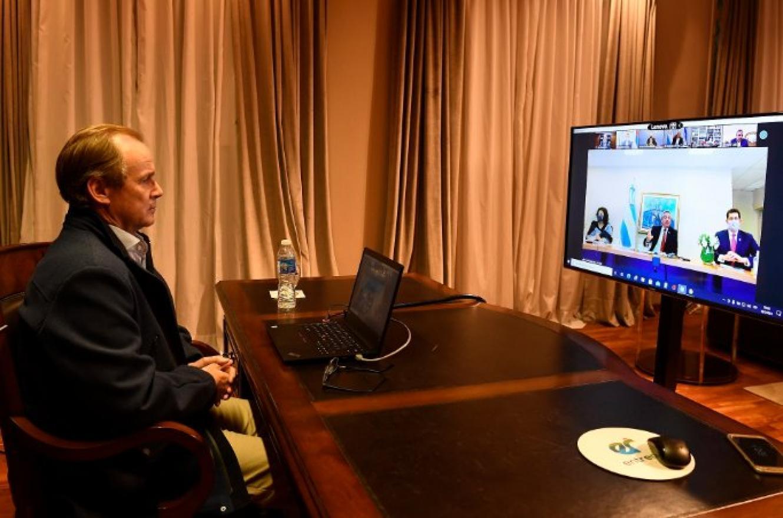 Bordet acordó con Nación la continuidad de obras claves para la provincia