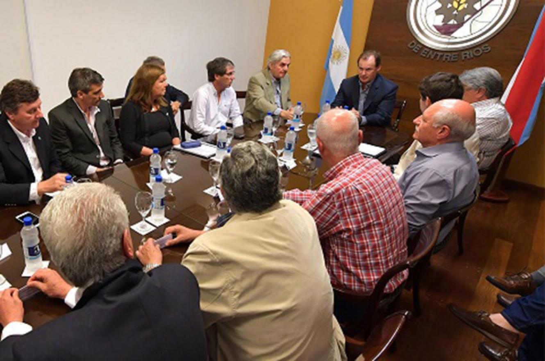 Mesa de Enlace provincial con gobierno provincial