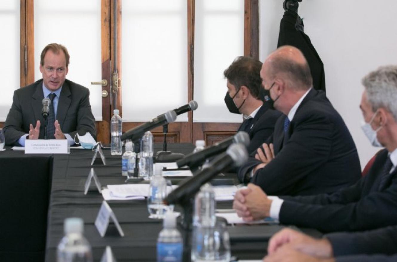 """Consejo Federal Hidrovía: Bordet instó a """"tener previsibilidad en el nuevo contrato"""""""