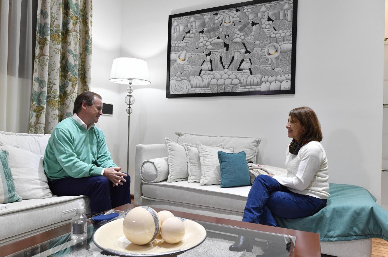 Bordet se reunió con la hermana de Papetti tras el fallo en la causa Área Paraná II
