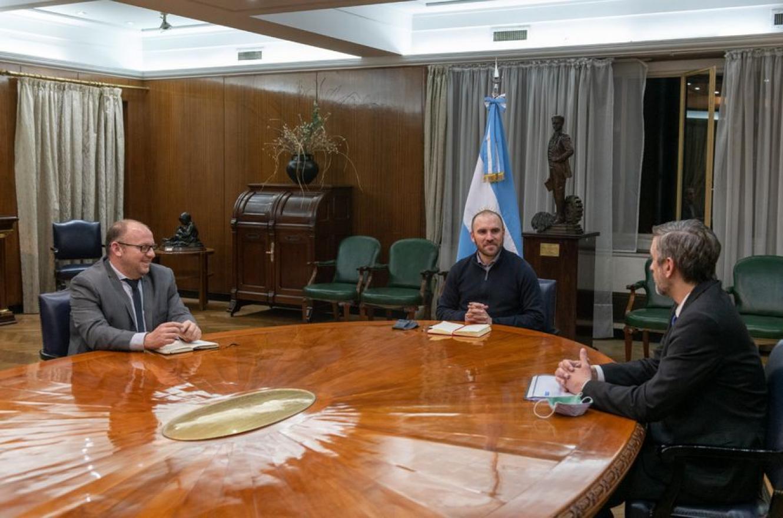 Brigo, Guzmán y Sardi, juntos en Economía