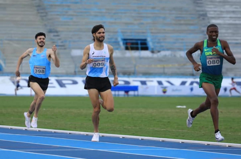 Atletismo: el entrerriano Federico Bruno competirá el sábado en Portugal