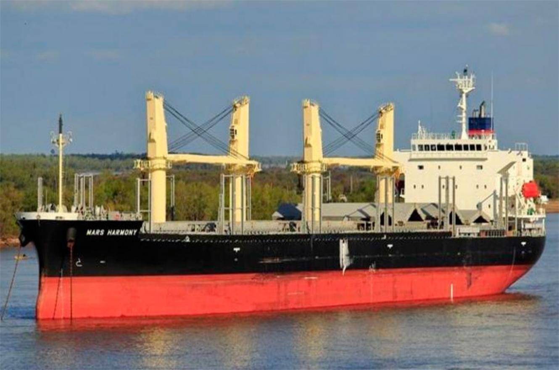 buque encallado río Paraná