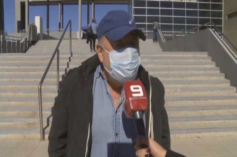 Busti recibió la segunda dosis de la vacuna contra el coronavirus
