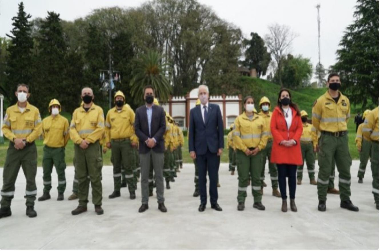 Cabandié y Taiana acordaron cooperación en el manejo del fuego