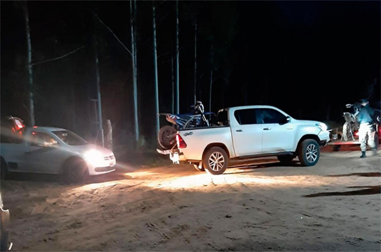 Las autoridades de Concordia lograron interceptar a un grupo de personas que retornaban a dicha localidad por caminos alternativos para evadir el control sanitario.