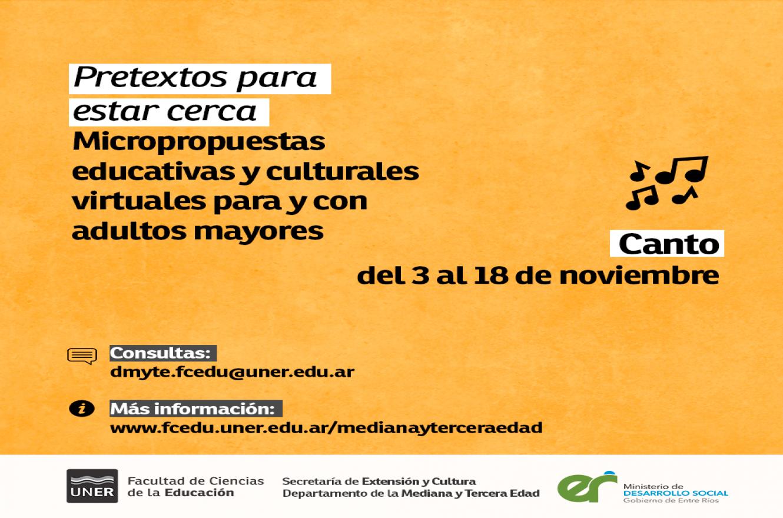 Micropropuestas educativas y culturales