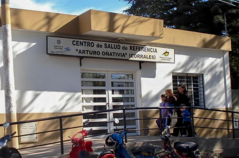 """Imagen de archivo del Centro de Salud """"Arturo Oñativia"""" de Paraná."""