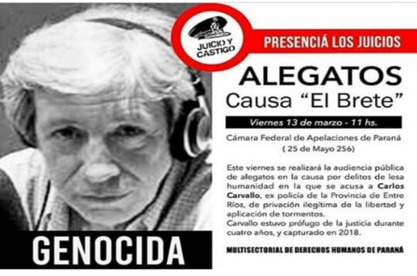 Audiencia suspendida