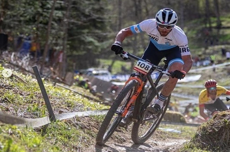 Ciclismo de Montaña: el entrerriano Catriel Soto se ubicó 57º en Alemania