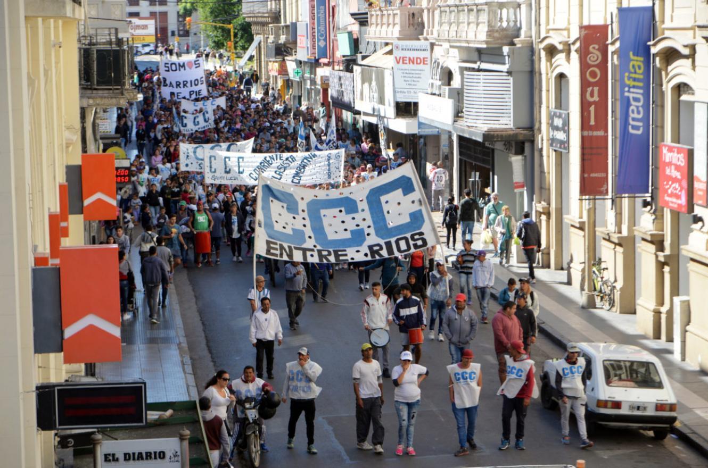 movilización CCC (Foto: archivo)