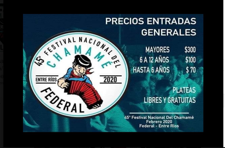 Festival Nacional del Chamamé del Norte Entrerriano