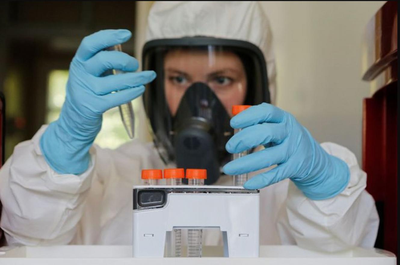 científica laboratorio