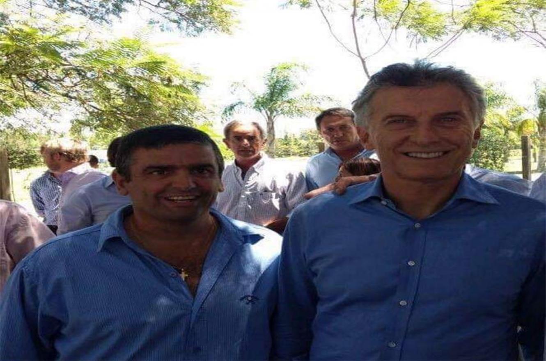 Víctor Odiard es un dirigente de Cambiemos en San Salvador.