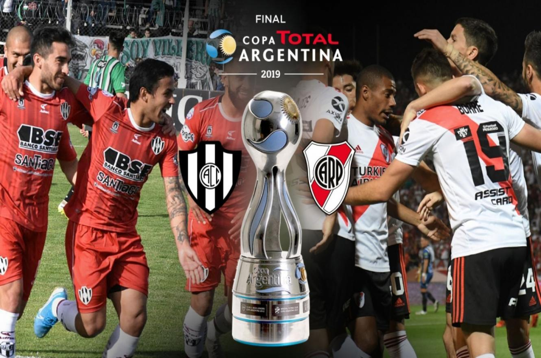 Copa Argentina: River y Central Córdoba jugarán la final el 13 de diciembre en Mendoza