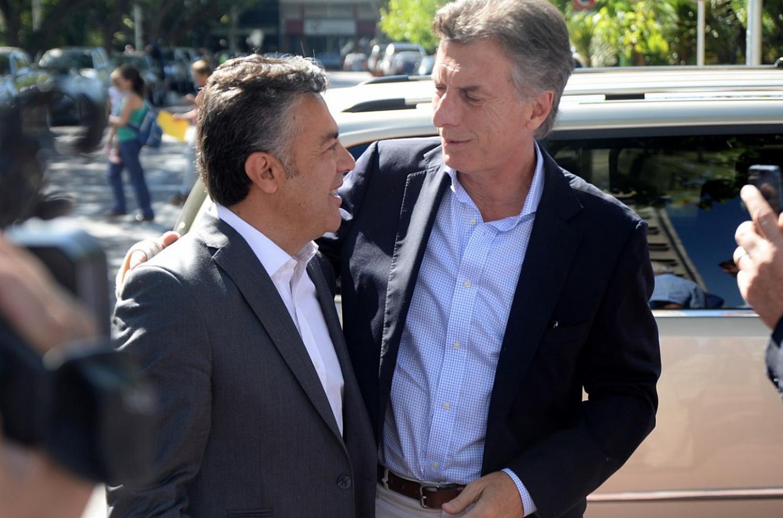 Cornejo y Macri