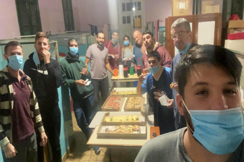 infectados Covid Colón de fiesta en el hospital