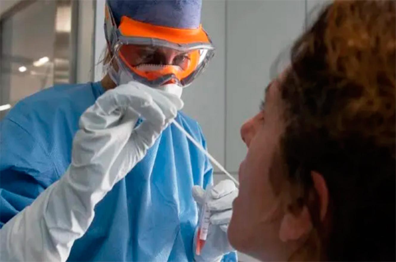 coronavirus hisopado