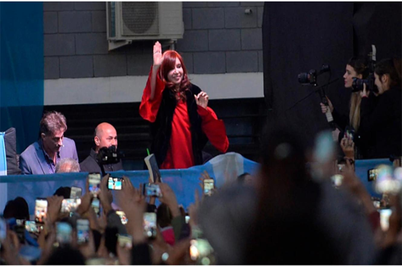 Cristina Kirchner de campaña