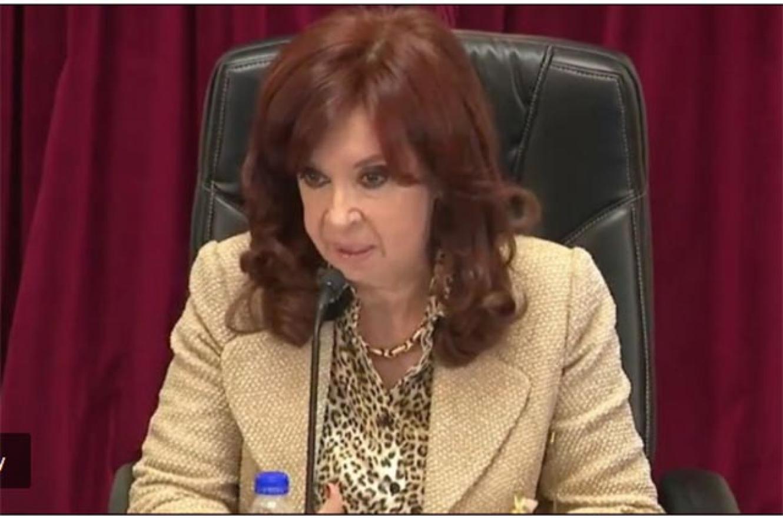 Cristina Kirchner en sesión