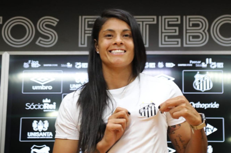 Fútbol: la entrerriana Soledad Jaimes volverá al Santos de Brasil