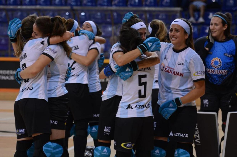 Hockey sobre patines: Argentina irá por el título mundial en ambas ramas