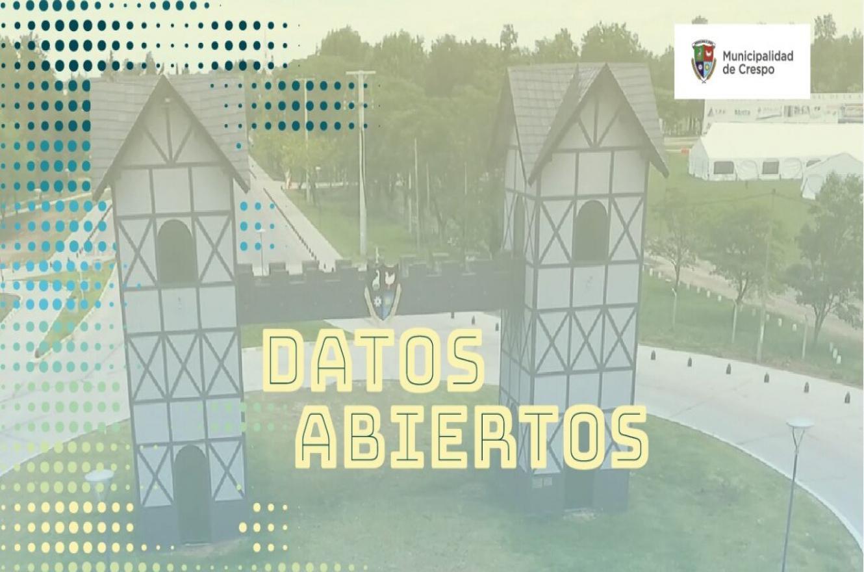 portal de datos abiertos Crespo